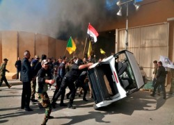 Militiamen Breach U.S. Embassy In Baghdad; Trump Blames Iran