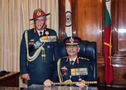 General Manoj Mukund takes charge as new Army chief