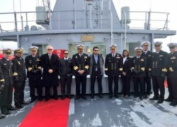 Malaysia receives first of 4 large patrol ships built in China