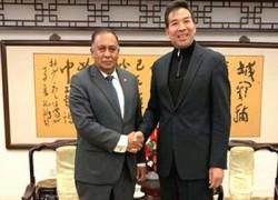CHINA SEEKS TO INTENSIFY COORDINATION WITH SRI LANKA