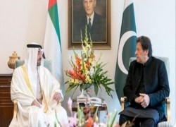 Abu Dhabi crown prince, Pakistan premier discuss ties