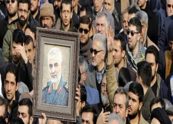 IRAN IN MOURNING, VOWS REVENGE FOR QASSEM SOLEIMANI'S KILLING