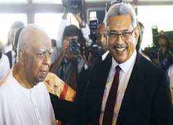 Lankan president vows to combat terrorism, crime