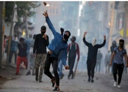 2019 recorded most number of stone throwing incidents in Jammu & Kashmir