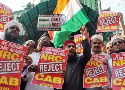 Fear haunts Muslims at the centre of protests against India's controversial CAA