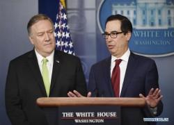 US IMPOSES FRESH SANCTIONS ON IRAN AFTER IRAQ ATTACK: MNUCHIN