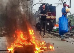 RAILWAYS SUFFERED RS 84 CRORE WORTH PROPERTY DAMAGE IN ANTI-CAA AND NRC PROTESTS IN BENGAL