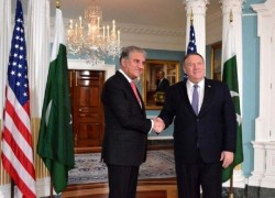 POMPEO LAUDS PAKISTAN'S EFFORTS FOR AFGHAN PEACE