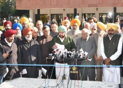 OPPOSING PUNJAB RIVER WATER TO NON-BASIN AREAS, ALL-PARTY MEET SEEKS REASSESSMENT OF WATER AVAILABILITY