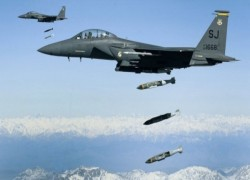 US records highest airstrike rate in Afghanistan for a decade