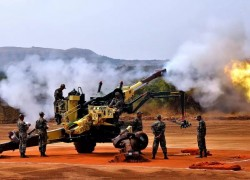 Indian army stocking up munitions for 40-day war