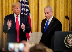 DONALD TRUMP PROPOSES PALESTINIAN STATE WITH CAPITAL IN EAST JERUSALEM
