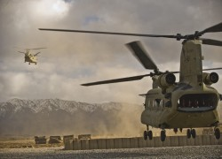 Afghanistan to field Chinook heavy-lift helos