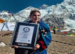 Nepal bags Guinness World Records for Highest Altitude Fashion Show