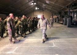 U.S. EXPANDS TROOP, FIGHTER JET PRESENCE AT SAUDI BASE