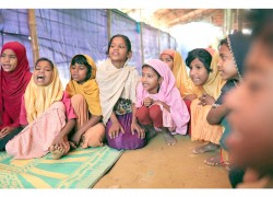 Bangladesh counters human trafficking of Rohingya with schools