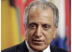 Khalilzad in Pakistan to fine tune Afghan peace deal