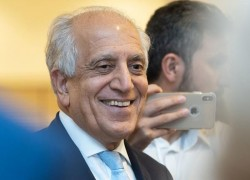 US envoy briefs Afghan president on peace talks with Taliban