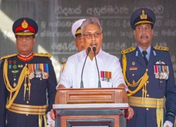 Lankan President puts his cards on the table through his Independence Day address