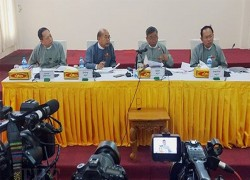 Myanmar EC says no campaigning, no polls near military barracks