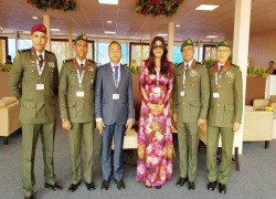 Maldives' defence minister concludes visit to India