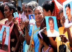 ON VALENTINE'S DAY SRI LANKA URGED TO PROVIDE ANSWERS TO FAMILIES OF MISSING