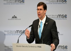 Mark Esper: 'Rising threat' China tops US's adversaries list