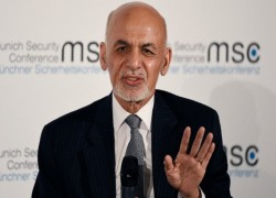 GHANI CAUTIOUSLY REACTS TO US-TALIBAN TALKS IN MUNICH