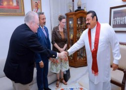 US CONGRESSMEN MEET PM TO DISCUSS RELATIONS WITH SRI LANKA