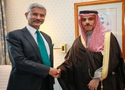 S JAISHANKAR MEETS US PEACE ENVOY FOR AFGHANISTAN, SAUDI COUNTERPART AT MUNICH SECURITY CONFERENCE