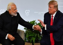 President Trump getting a wall in India too