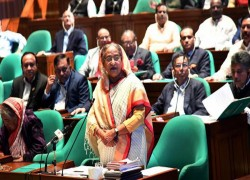 WE'RE ECONOMICALLY STRONGER THAN SINGAPORE: PM HASINA