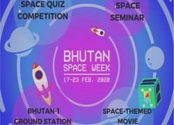 Bhutan Kickstarts first ever space week