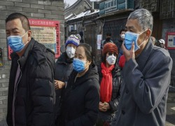 CORONAVIRUS CASES IN CHINA FALL FOR 2ND DAY, OVER 2K KILLED