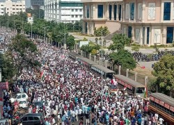 ANTI-CAA PROTESTERS BEGIN LONG MARCH TO SECRETARIAT IN CHENNAI
