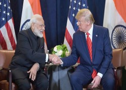 Trump says working on a very big trade deal with India, but not soon