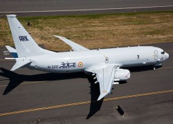 India's Navy to receive first of four P-8I maritime patrol aircraft in April