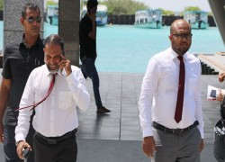 Maldives Home Minister departs to India on official visit