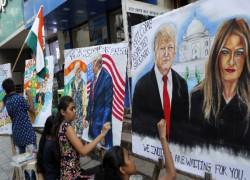 Taj Mahal but no trade deal for Trump in India