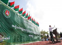 Military proxy USDP adds leaders ahead of Myanmar's election