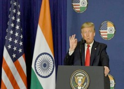 TRADE DEAL NOT LIKELY BEFORE YEAR-END, SAYS DONALD TRUMP, AVOIDS CAA, DELHI VIOLENCE