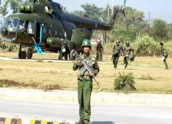 Indian, Myanmar Air Force conduct joint exercise