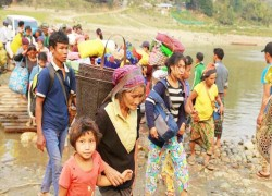 Thousands displaced by fresh fighting in Myanmar
