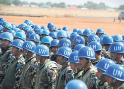 Nepal prepares to send 10,000 peace keeping force to UN Mission