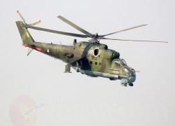 Myanmar military helicopter crashes carrying foreign military attachés
