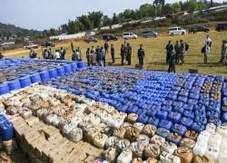 $100m in drugs seized in Myanmar raids