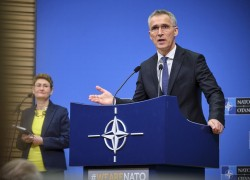NATO ENVOY CALLS ON AFGHAN LEADERS TO SOLVE DIFFERENCES