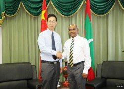 China willing to assist Maldives: Chinese envoy