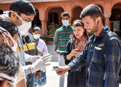 Foreign tourists face hostility in India amid coronavirus panic