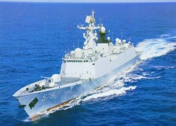 Keel-laying ceremony of second Type 054 A/P frigate for Pakistan Navy held in China